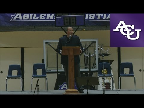 ACU Chapel with Adam Dorrel; March 8, 2017