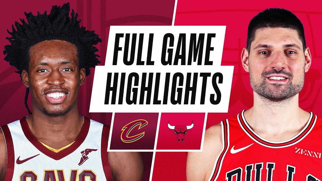 CAVALIERS at BULLS   FULL GAME HIGHLIGHTS   April 17, 2021
