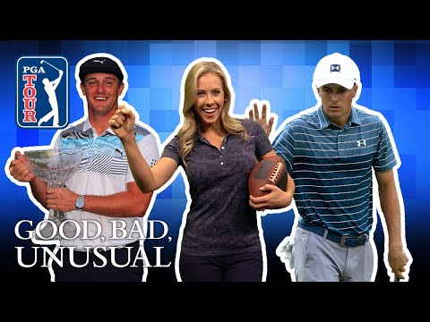 Funny football celebrations, Bryson?s eagle and the ultimate range whoopsie