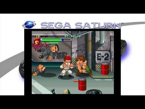 CROWS: THE BATTLE ACTION Sega Saturn