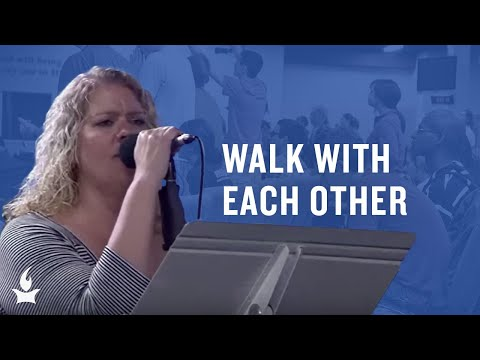 Walk With Each Other (spontaneous) -- The Prayer Room Live Moment