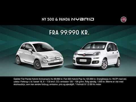 Fiat 500 & Panda Hybrid