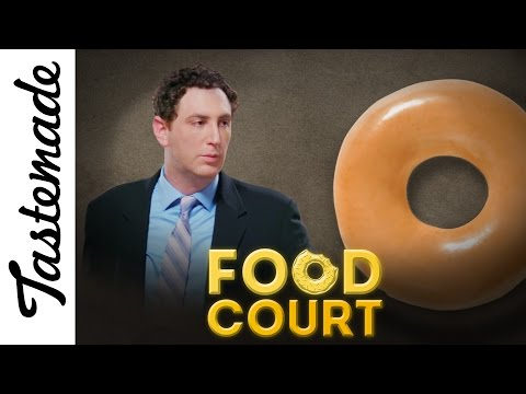 The Case of Glazing Over the Truth   Food Court