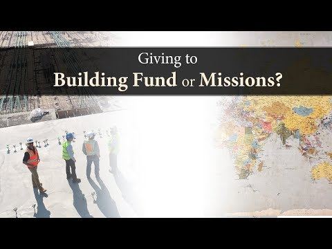 Giving to Building Fund or Missions? - Ask Pastor Tim