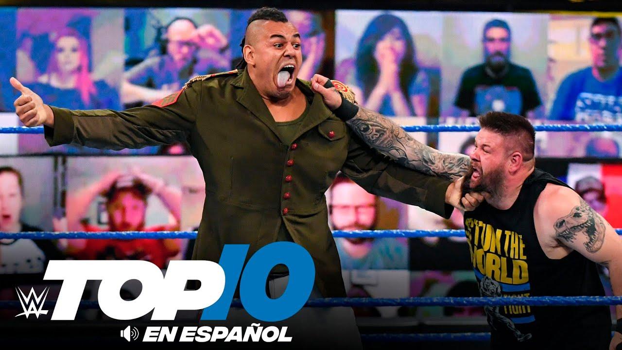 Top 10 Mejores Momentos de SMACKDOWN: WWE Top 10, Abr 23, 2021