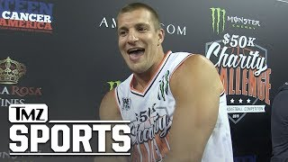 Rob Gronkowski Confirms Working Out with Tom Brady, 'It Was Great!' | TMZ Sports