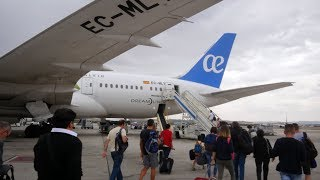 Air Europa Boeing 787-8 Dreamliner Business Class Madrid to Gran Canaria