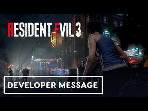 Resident Evil 3 - Special Developer Message (Gameplay First Look) - UCKy1dAqELo0zrOtPkf0eTMw