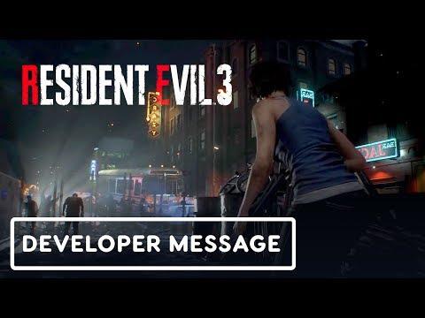 Resident Evil 3 - Special Developer Message (Gameplay First Look) - UCKy1dAqELo0zrOtPkf0eTMw
