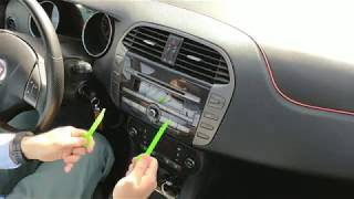 Smontare autoradio Fiat Bravo 2