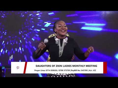 Daughters of Zion Live Meeting -June Edition (27th June 2020) -#DOZ2020
