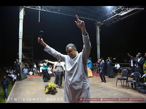 HEALING JESUS CAMPAIGN, LIVE FROM SEFWI BEKWAI - GHANA - THE GREAT PHYSICIAN