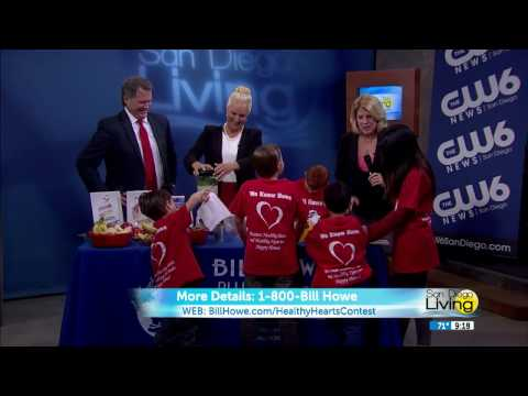 Tina Howe & The AHA Join CW San Diego Living!