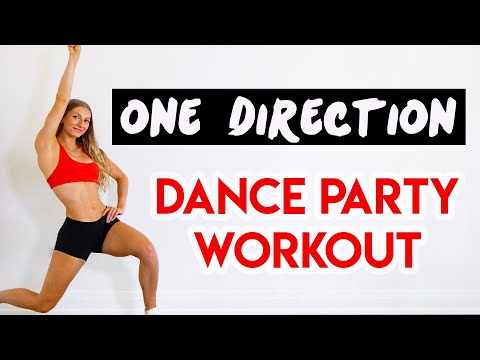 ONE DIRECTION 15 MIN DANCE PARTY WORKOUT - Full Body/No Equipment