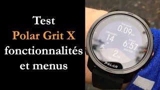 vidéo test Polar Grit X par Montre cardio GPS