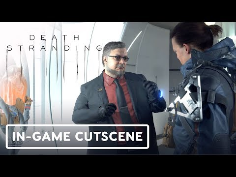 Death Stranding: Bridge Baby & Deadman In-Game Cutscene - Gamescom 2019 - UCKy1dAqELo0zrOtPkf0eTMw