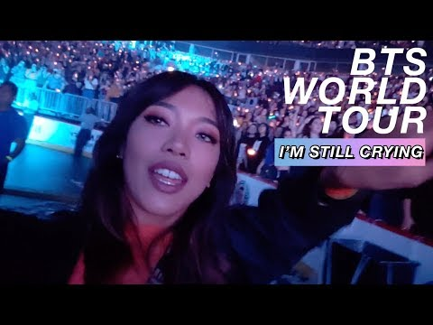 I TRAVELED ALONE ACROSS THE COUNTRY TO 4 BTS SHOWS! World Tour 2018 Vlog ✨?| 방탄소년단 | Nava Rose