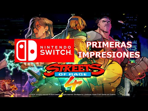 STREET OF RAGE 4 SWITCH PRIMERAS IMPRESIONES