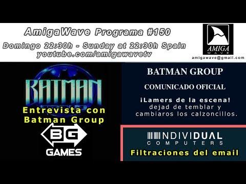 Programa #150, entrevista con Batman Group y recorrido por AmigaStore.