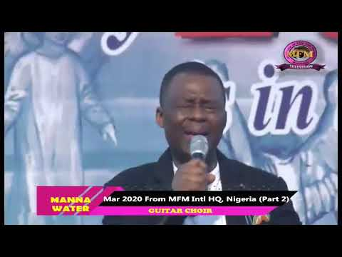 MFM SPECIAL MANNA WATER MARCH 22ND 2020