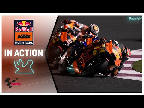 KTM in action: VisitQatar Grand Prix