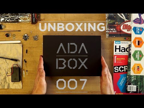 ADABOX 007 UNBOXING! LIVE! #adabox #adabox007 @adafruit @johnedgarpark