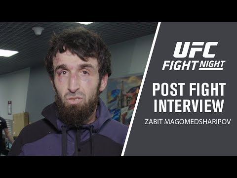 UFC Moscow: Zabit Magomedsharipov Post-fight Interview