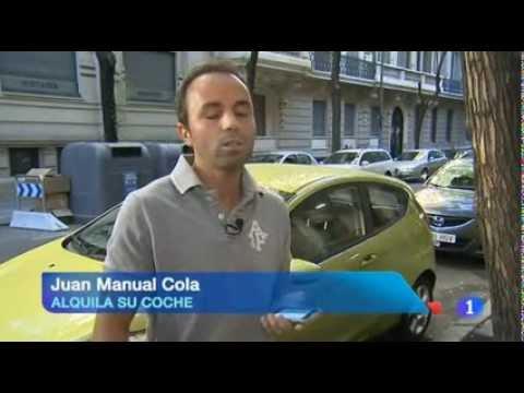 SocialCar.com en el Telediario de Fin de Semana TVE (24/06/2012)