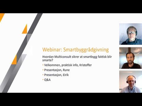 webinar om smartbygg