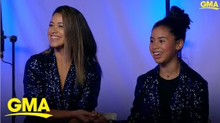 'Female President' stars Gina Rodriguez and Tess Romero talk about their new roles.