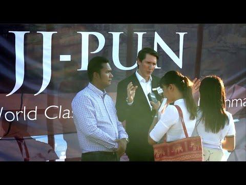 JJ-Pun brings first Community Light Center to Myanmar