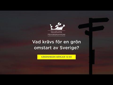 Vad krävs för en grön omstart av Sverige?