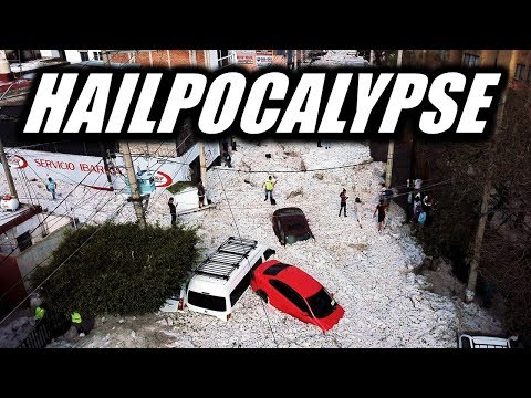 Breaking End Time Signs: Hailpocalypse in Mexico!  - Something Strange is Happening Around the World
