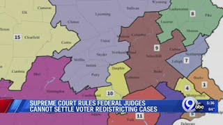 SCOTUS rules federal judges cannot settle voter redistricting cases