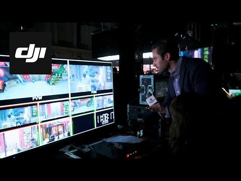 DJI - Wanda Studios Grand Opening: Live Stunt Behind the Scenes