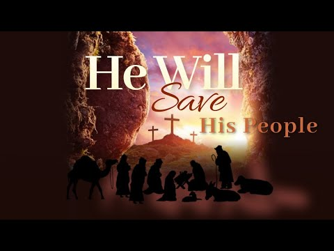 He Will Save His People - Message Only - Pastor John-Mark Bartlett
