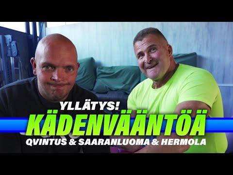 Henri palaa kisalavoille! | ft.  Suomen vahvin kädenvääntäjä & Maailmanmestari