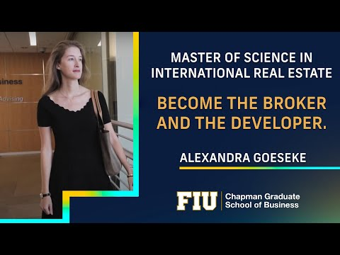 Become the broker and the developer. Alexandra Goeseke tells us her story on how she did it.