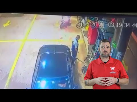 Gas Station Bandits Did Not Expect Armed Resistance