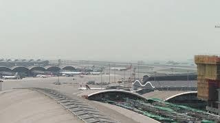 HongKong Airlines A330 at Hong Kong Airport