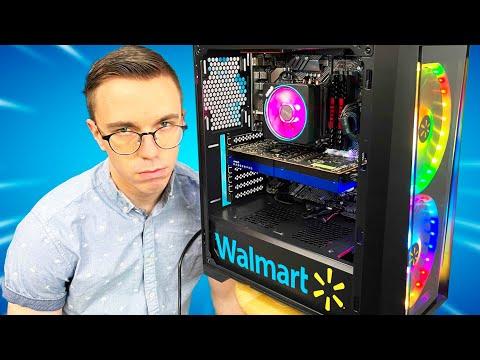 Building a Gaming PC...at Walmart??