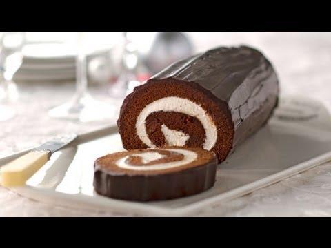 Chocolate Cake Roll Recipe
