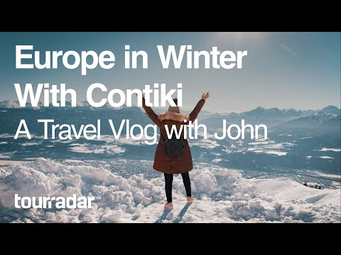 Europe in Winter with Contiki: Travel Vlog with John
