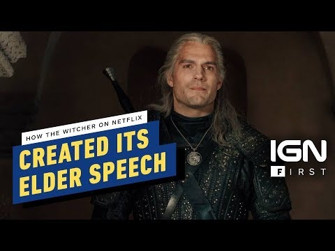 The Witcher: Creating the 'Elder Speech' Language for the Netflix Series - IGN First - UCKy1dAqELo0zrOtPkf0eTMw