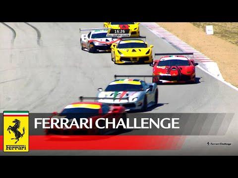 Ferrari Challenge North America - Laguna Seca, Coppa Shell Race 1