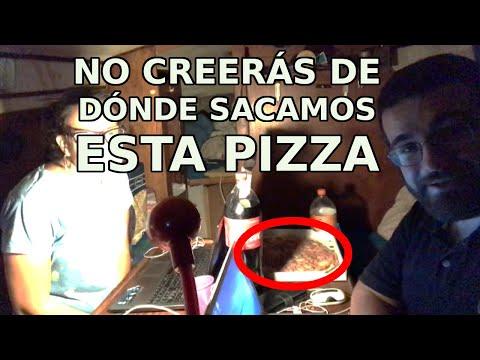 Traemos PIZZA 🍕 al BARCO ⛵ ¡Y PASA ESTO! 😱 - No creerás de dónde conseguimos nuestra cena - OLIV EP1