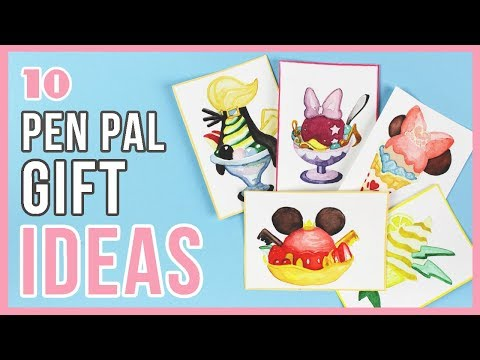 10 Inexpensive Gift Ideas For Pen Pals!