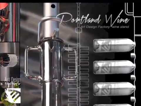 Portland - Art Design Factory Wine Stand