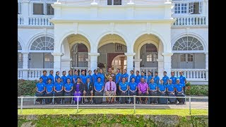 Fijian President received iTatau from the National Women's Handball team
