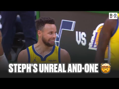 Steph Curry Hits Absurd And-One vs. Celtics